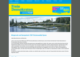 Fdp-fuerstenwalde.de thumbnail