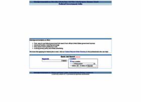 Federalgovernmentjobs.us thumbnail