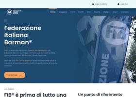 Federazioneitalianabarman.it thumbnail