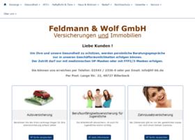 Feldmann-versicherungen.de thumbnail
