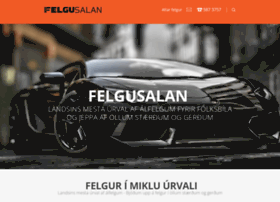 Felgusalan.is thumbnail