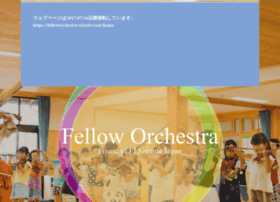 Felloworchestra.org thumbnail