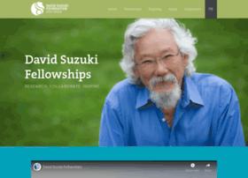 Fellowships.davidsuzuki.org thumbnail