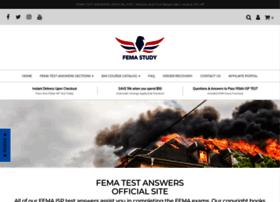 Fema-study.com thumbnail