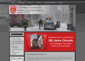 Feuerwehr-diessen.de thumbnail