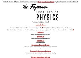 Feynmanlectures.caltech.edu thumbnail