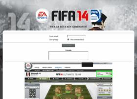 Fifa14betakey.com thumbnail