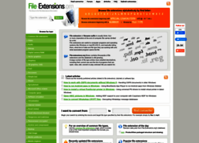 File-extensions.org thumbnail