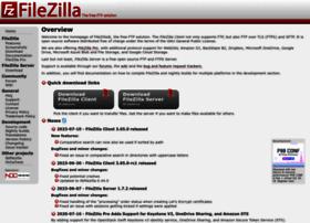 Filezilla-project.org thumbnail
