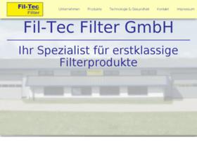 Filtec-filter.de thumbnail