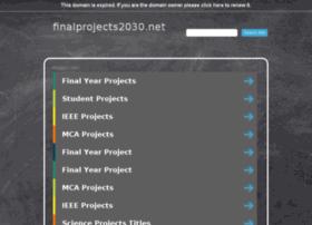 Finalprojects2030.net thumbnail