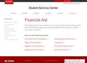 Financialaid.ncsu.edu thumbnail