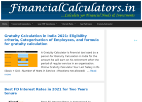 Financialcalculators.in thumbnail