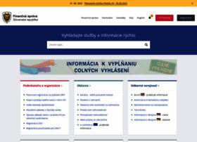 Financnasprava.sk thumbnail