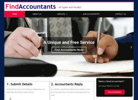 Findaccountants.ie thumbnail