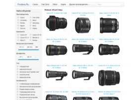Findlens.ru thumbnail