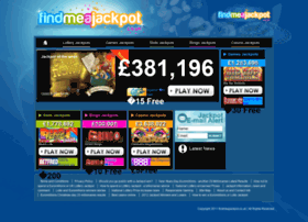 Findmeajackpot.co.uk thumbnail