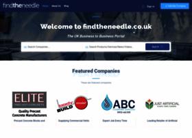 Findtheneedle.co.uk thumbnail