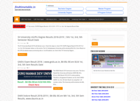 Findtimetable.in thumbnail