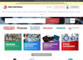 Finecontrols.co.uk thumbnail