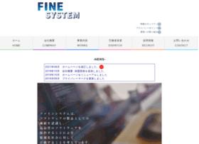 Finesys.co.jp thumbnail