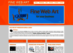 Finewebart-webdesign.nl thumbnail
