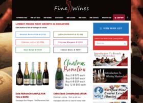 Finewines.com.sg thumbnail