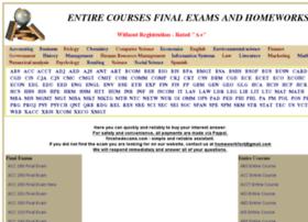 Finishedexams.com thumbnail