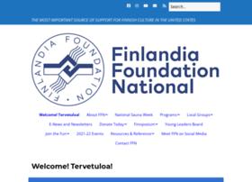 Finlandiafoundation.org thumbnail