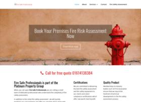 Firesafeprofessional.co.uk thumbnail