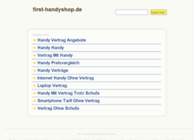 First-handyshop.de thumbnail