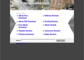 First-rate-reviews.com thumbnail