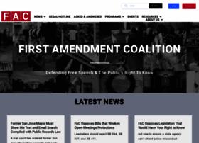 Firstamendmentcoalition.org thumbnail