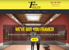 Firstpictureframe.ca thumbnail