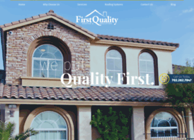 Firstqualityroof.com thumbnail