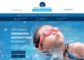Firstswimming.co.uk thumbnail