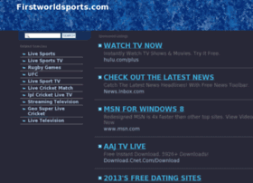 Firstworldsports.com thumbnail