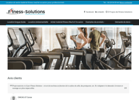 Fitness-solutions.fr thumbnail