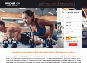Fitnessfranchiseindia.in thumbnail
