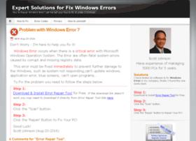 Fix-error.org thumbnail