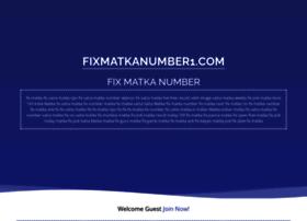 Fixmatkanumber1.com thumbnail