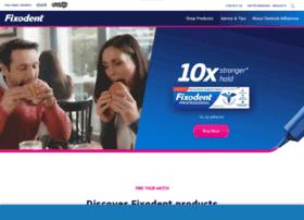 Fixodent.co.uk thumbnail