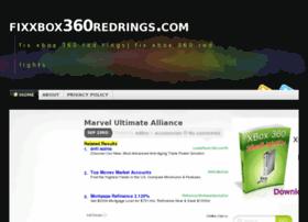 Fixxbox360redrings.com thumbnail