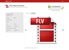 Flash-player-extension.fileplanet.com thumbnail