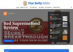 Flatbellybible.com thumbnail