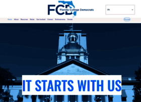 Flcollegedems.org thumbnail