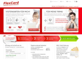Flexcard.de thumbnail