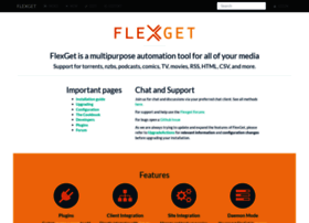 flexget com at Website Informer  FlexGet  Visit Flex Get