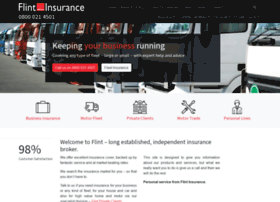 Flintinsurance.co.uk thumbnail