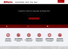 flixpress.com at WI. Online Video Maker | Video Creation Software ...